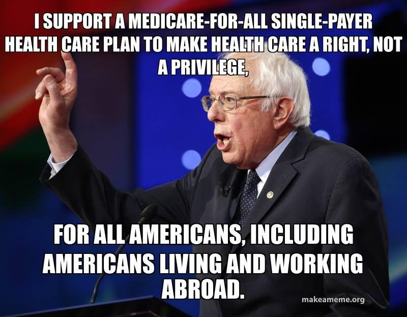 My favorite Medicare for All Meme | Medicare, Health care ...