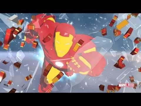 So yeah, I like animated boy flicks. [Iron Man: Armored Adventures Animated Series Trailer]