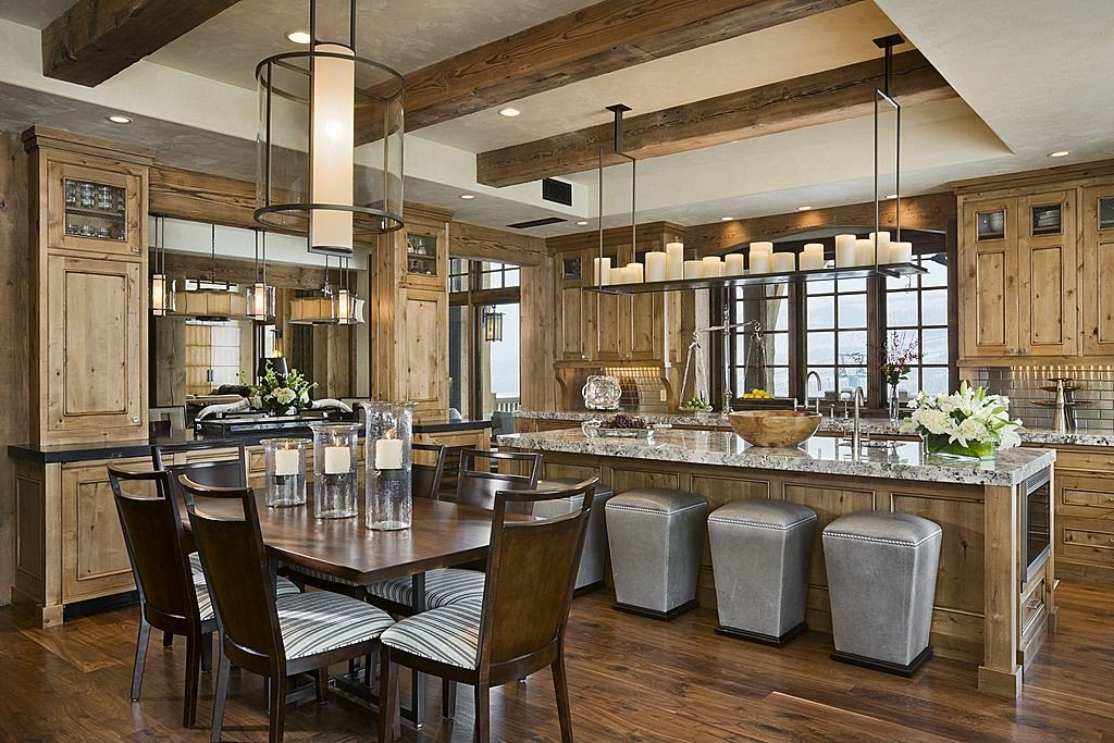 Dream Rustic Kitchens 48 luxury dream kitchen designs worth every penny (photos) | beams