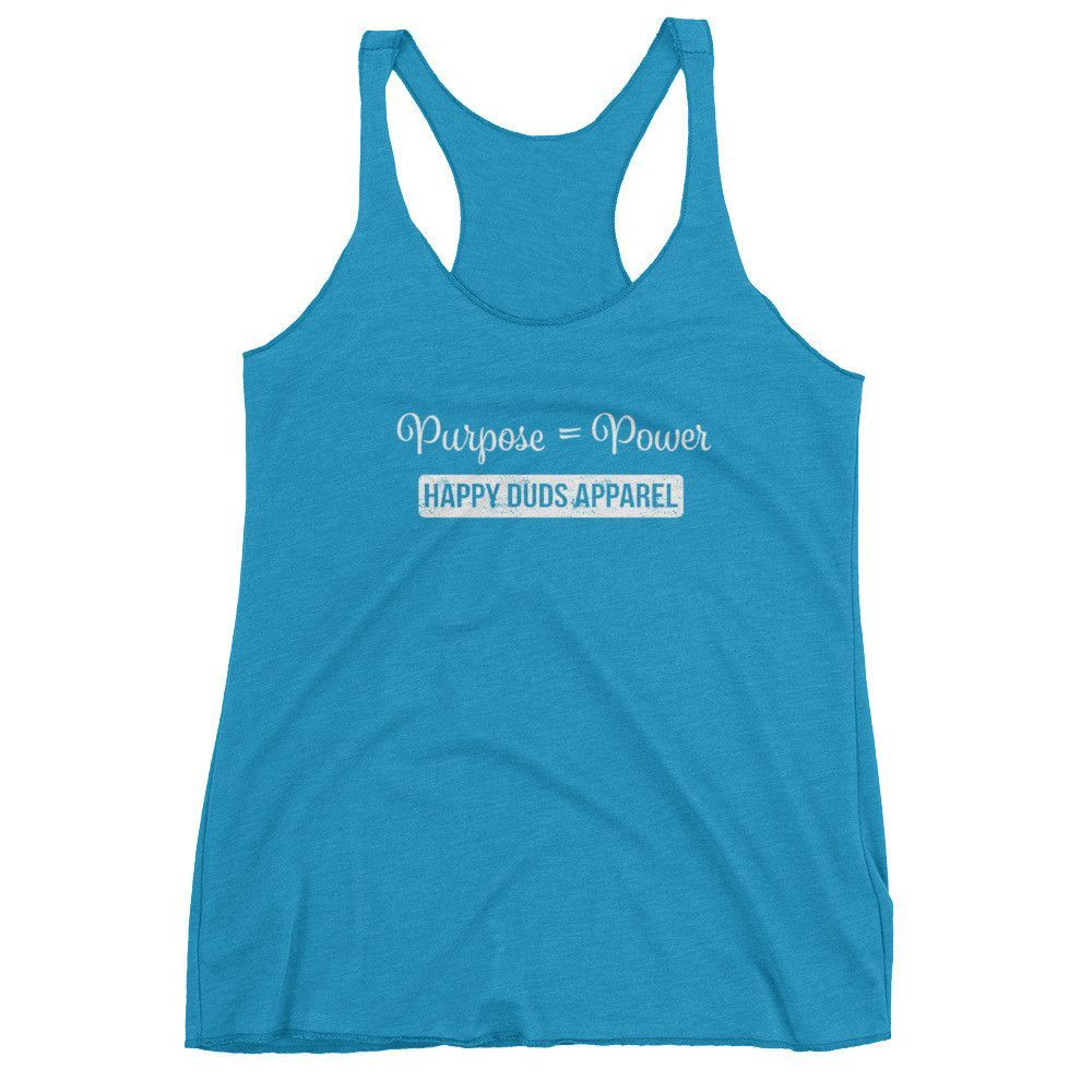 Purpose = Power Women's tank top