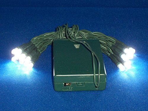 BRIGHT WHITE 20 LED battery power CRAFT lights Prestige G