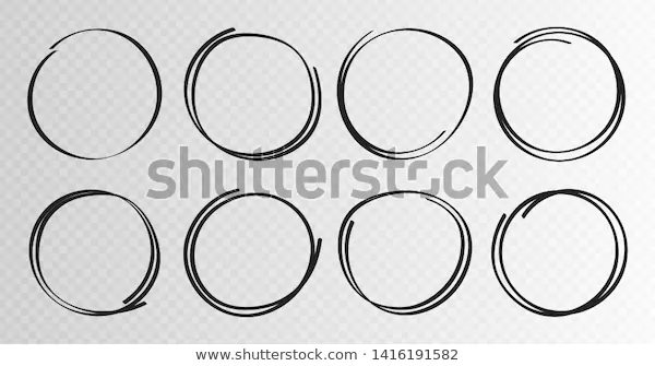 Hand Drawn Circles Sketch Frame Super Stock Vector Royalty Free 1416191582 In 2020 How To Draw Hands Stock Vector Vector