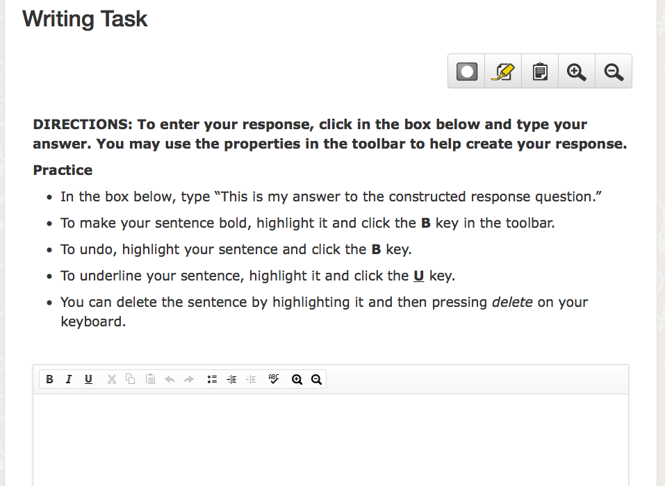 There are 2 types of Editing Task questions for the ELA TN Ready ...