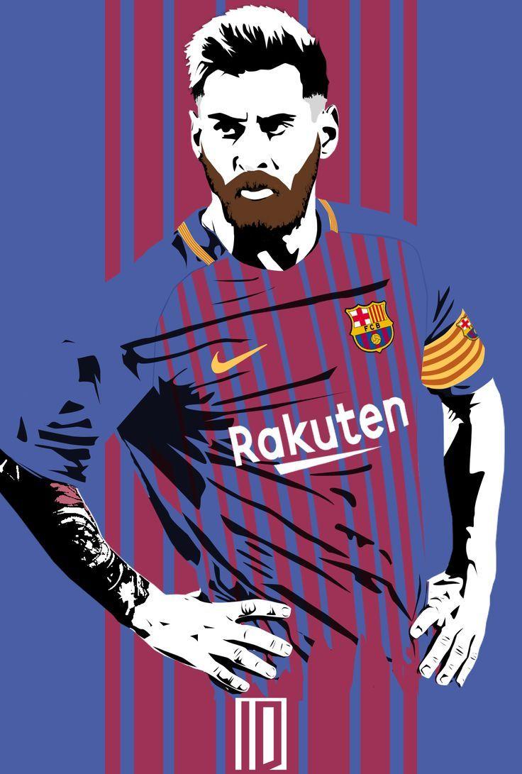Messi Cartoon Wallpaper Lionel Messi Wallpapers Messi Lionel Messi