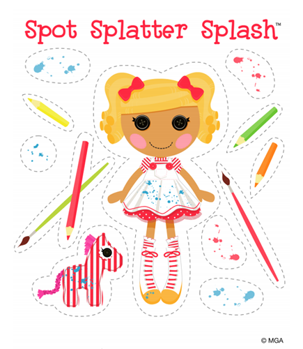 lalaloopsy coloring pages nick jr - photo#31