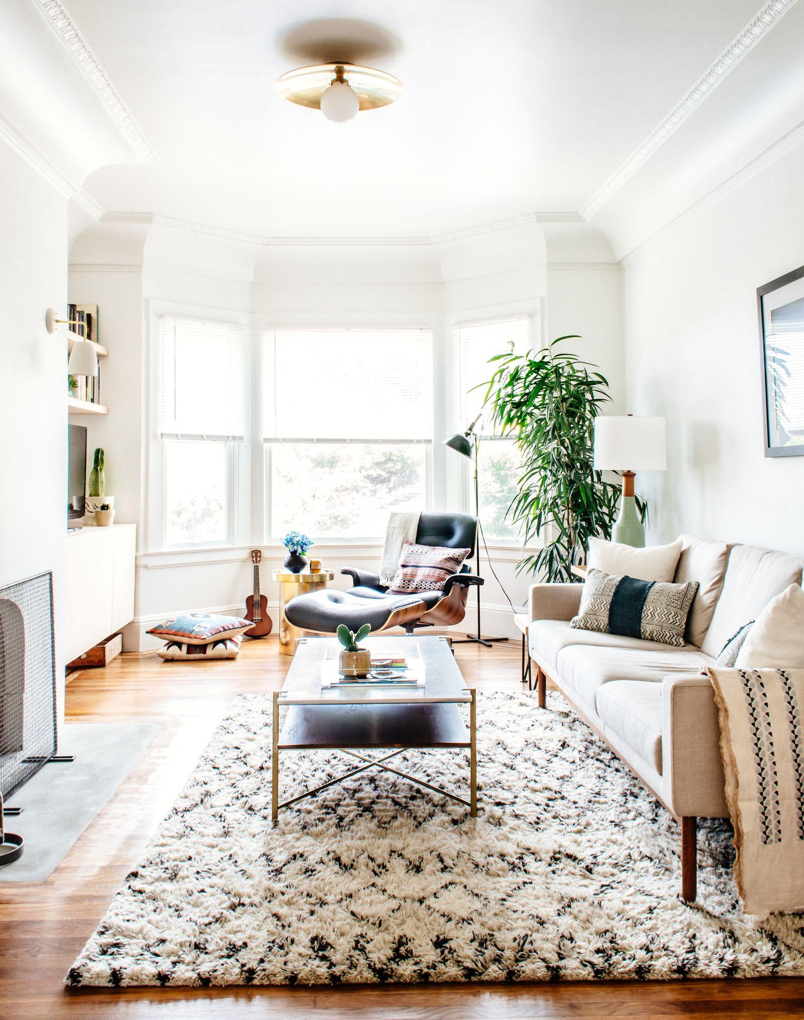 cozy modern | Minimalist living room, Neutral living room ...