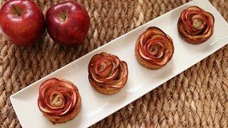 The apple roses are such a good idea! Got to try these :-)