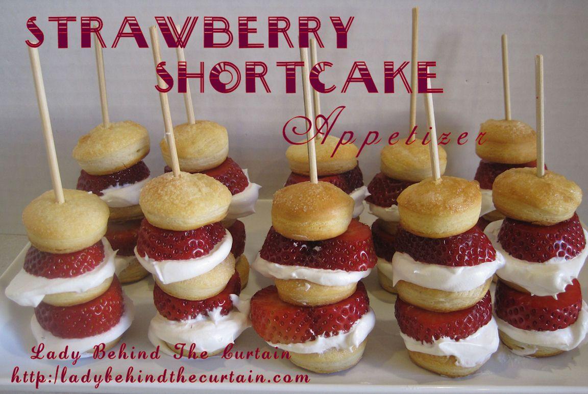 Strawberry Shortcake Appetizer