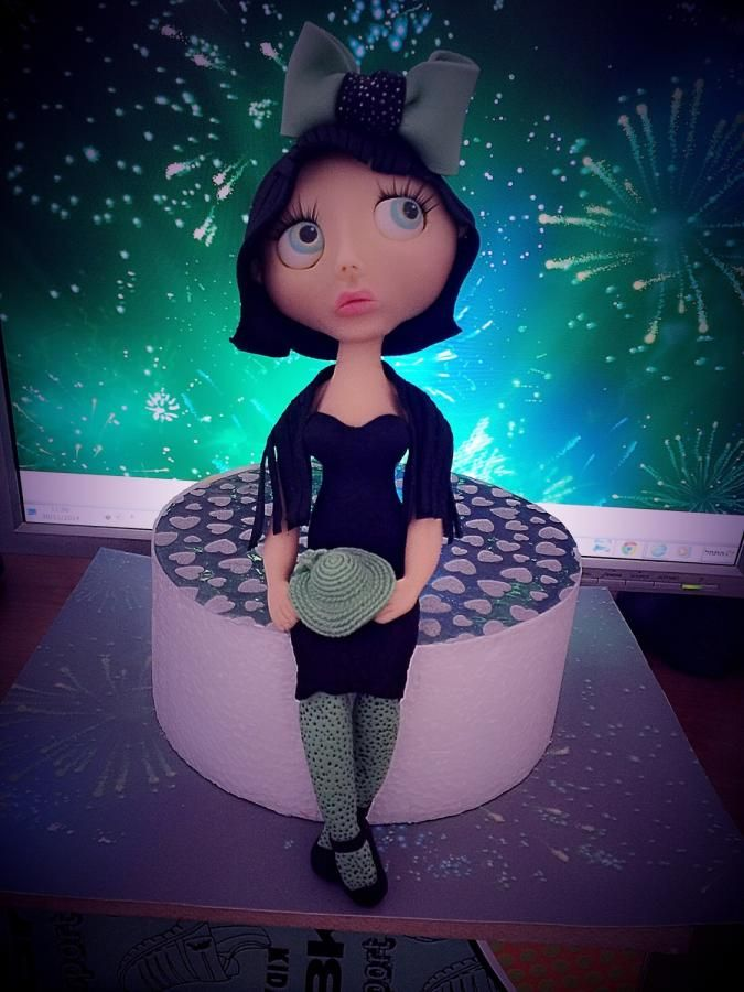 Blythe dolls - Cake by revital issaschar