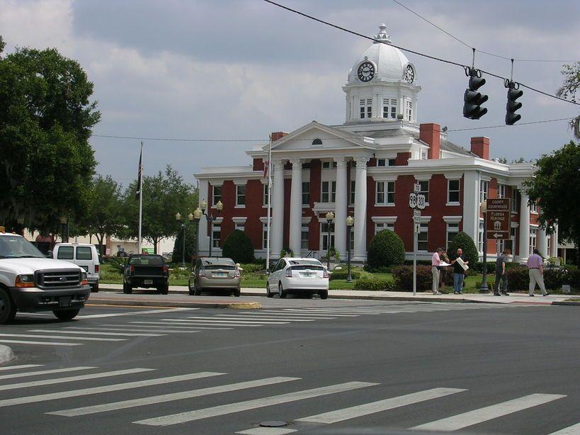 Dade City Fl County Courthouse Dade City City Florida
