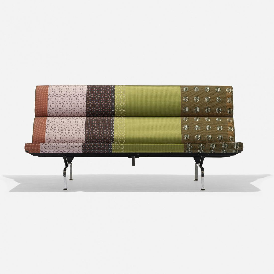 eames sofa compact cat urine on clean charles and ray herman miller usa