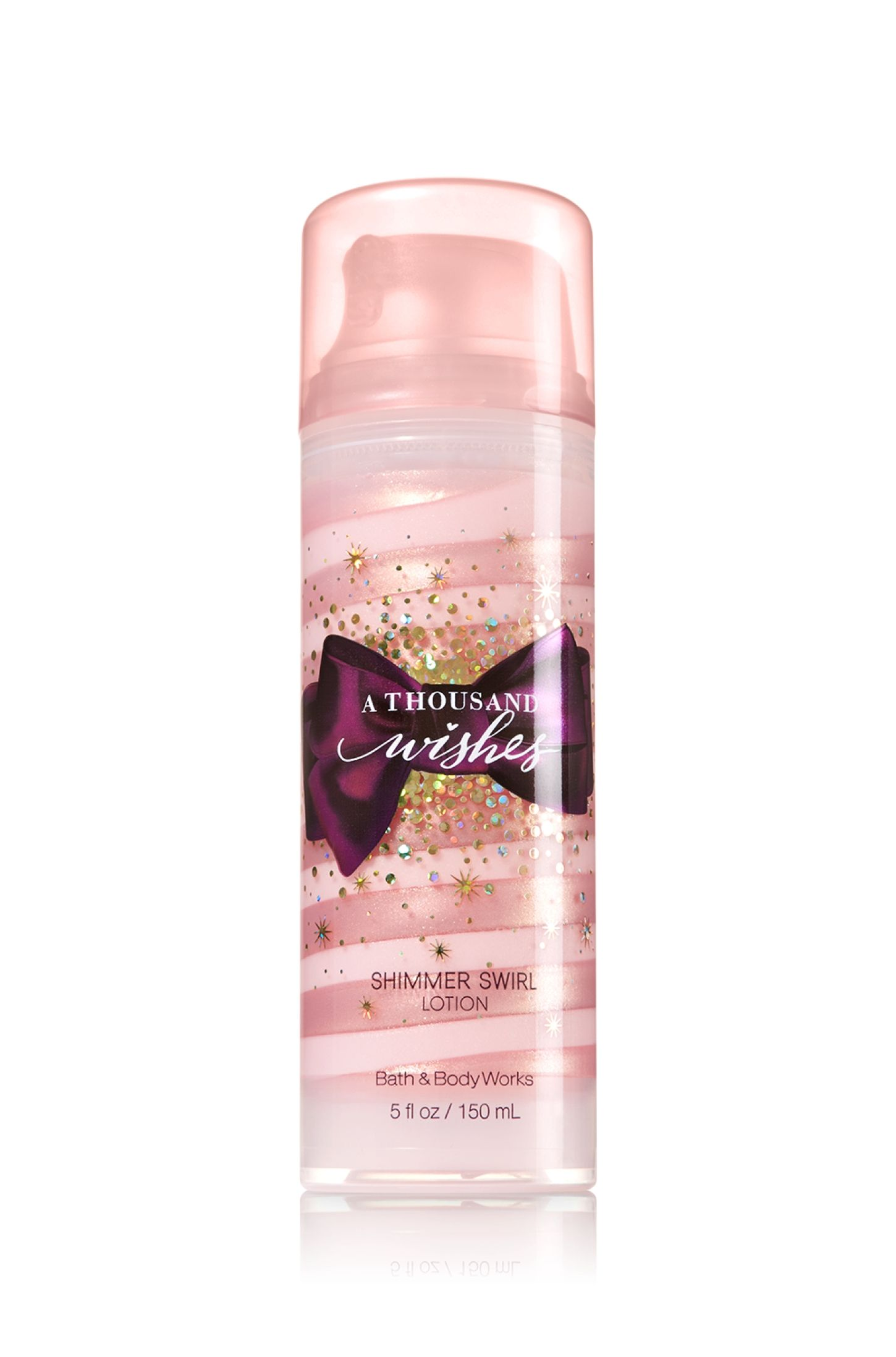 A thousand wishes shimmer swirl lotion signature
