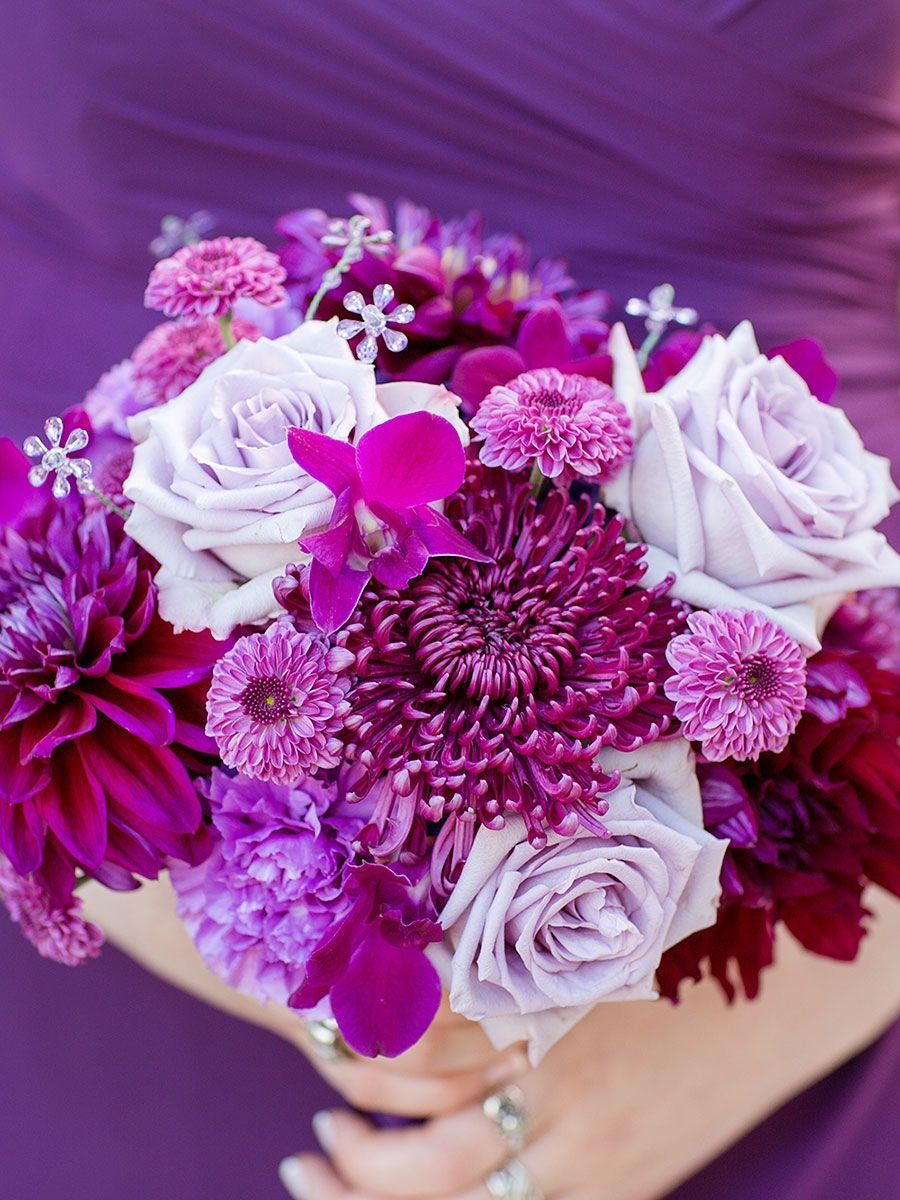 18++ Purple wedding decor flowers info