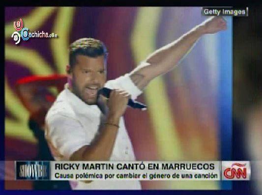 Ricky Martin Causa Polémica En Concierto En Marruecos @MarielaCNN #Video
