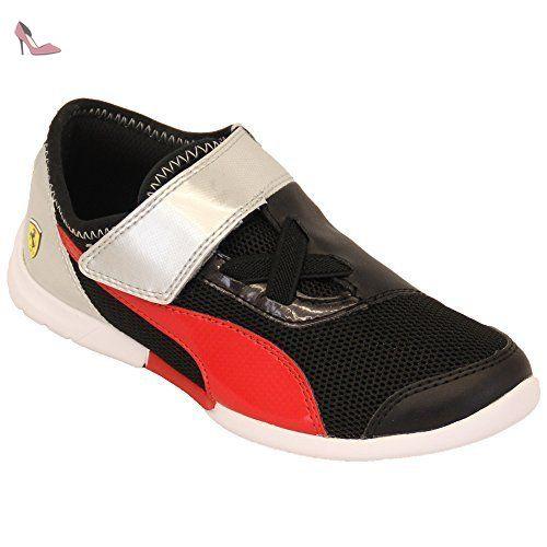 Smash V2 SD V Inf, Sneakers Basses Mixte Bébé, Noir Black Black-Asphalt, 25 EUPuma