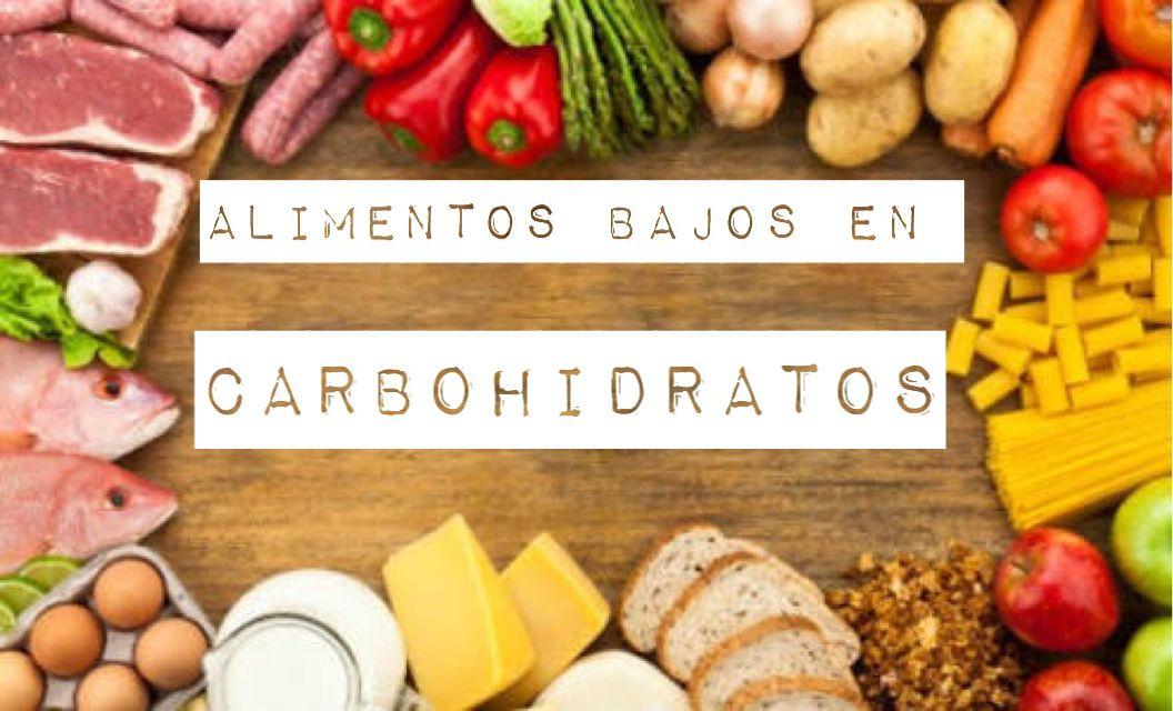 Alimentos Bajos En Carbohidratos Alimentos Bajos En Carbohidratos Alimentos Carbohidratos