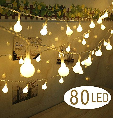 1399 eur cookey ball string lights 80 petite ampoule 10m batteri guirlande lumineuseguirlande