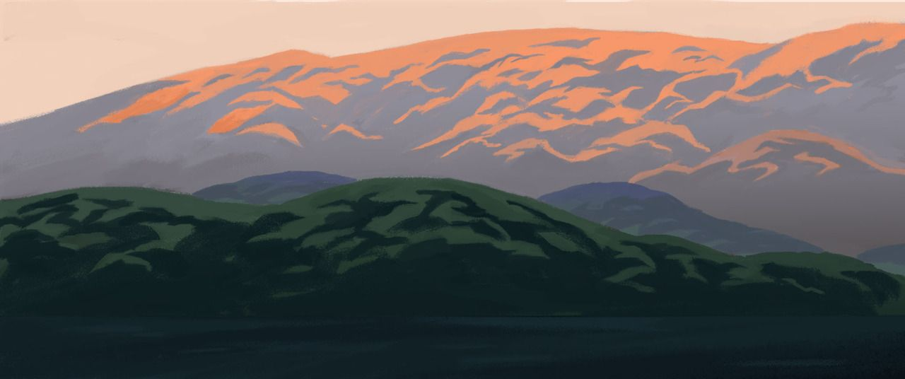 Sum Concepts I did for an upcoming short with school :)Different types of sunrises.... - #art #color #concept #crfa18 #gobelins #painting #sunrise