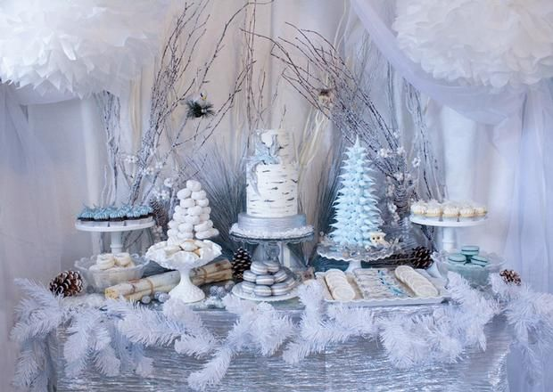 Superior Top 10 Themes And Ideas For A Winter Baby Shower: Winter Woodland Baby  Shower Theme
