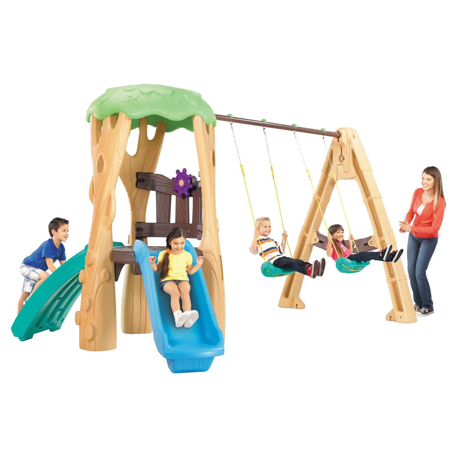 Little Tikes Tree House Swing Set - Swing sets and ...
