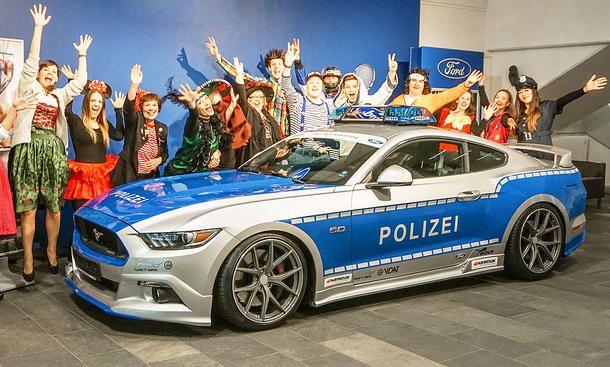 Ford Mustang Von Tune It Safe Autozeitung De Ford Mustang Polizeiwagen Polizei