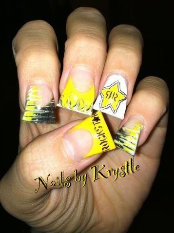 rockstar energy drink nails