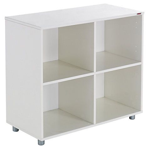 Buy Stompa Uno S Plus Multi Cube, White Online at johnlewis.com