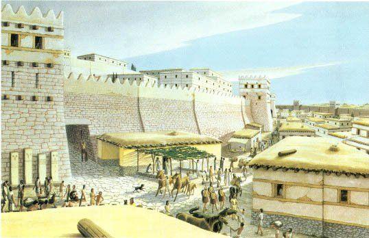 A cidade turca de Troia
