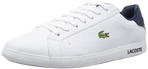 Lacoste Graduate Lcr3 Herren Sneakers Weiss Wht Lacoste Schuhe Sneaker Weisse Turnschuhe