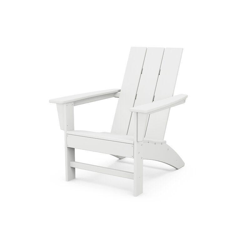 modern plastic adirondack chair