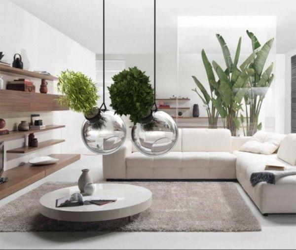 Design wohnung begr nung ideen h ngende moderne glas pflanzgef e terrarien designwerkstatt - Moderne wohnung design ...