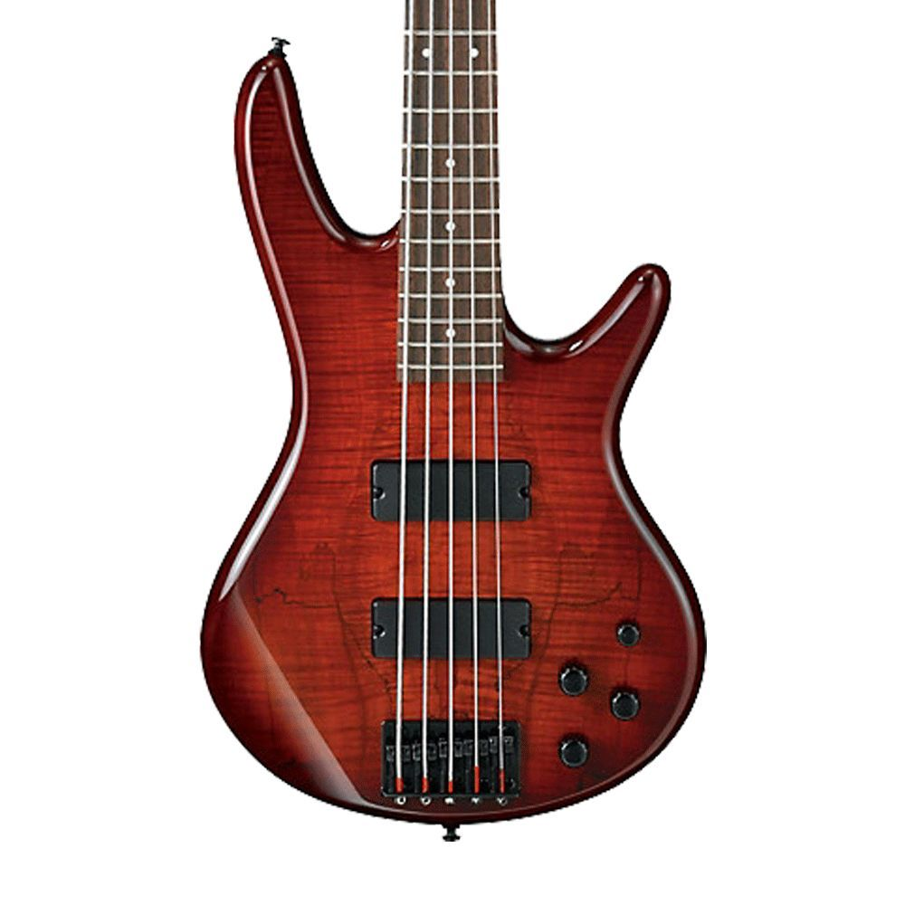 Ibanez gsrsm gio string electric bass charcoal brown burst