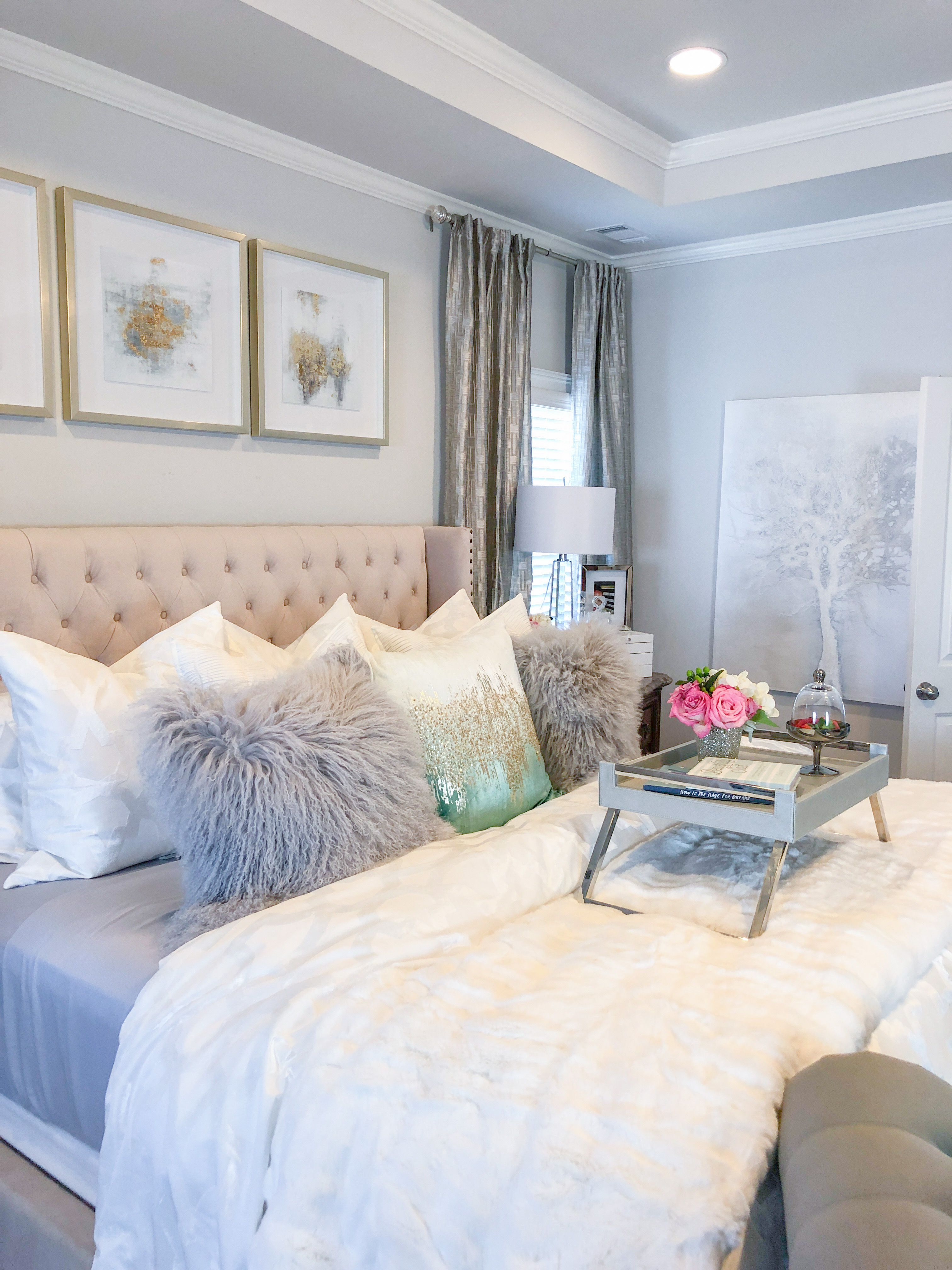 Pin On Glam Bedrooms