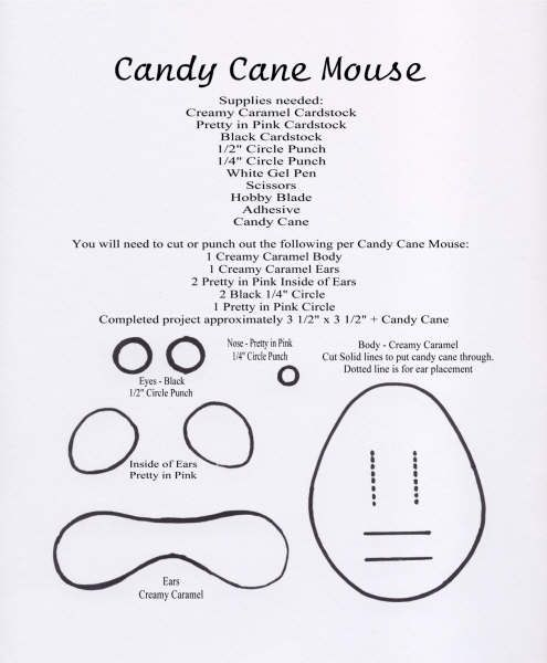 Candy Cane Mouse  Tube Video Candy Canes And Mice
