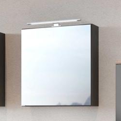 Badspiegelschrank in dunkel Grau 60 cm breit Star Möbel
