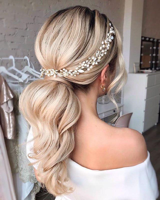 62 Romantische Frisuren Standesamt Wedding Ponytail Long Hair Styles Hair Styles