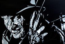Freddy Krueger- Created with Spray Paint