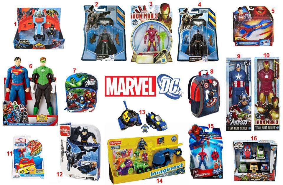 Marvel / DC items ..  To order: http://www.shopaholic.com.ph/