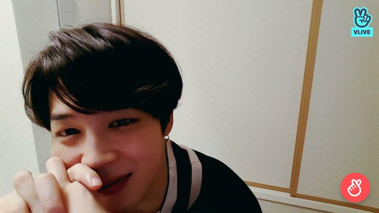 Vlive Jimin 23 04 Cute Smile Mochi Chimchim Park Jimin