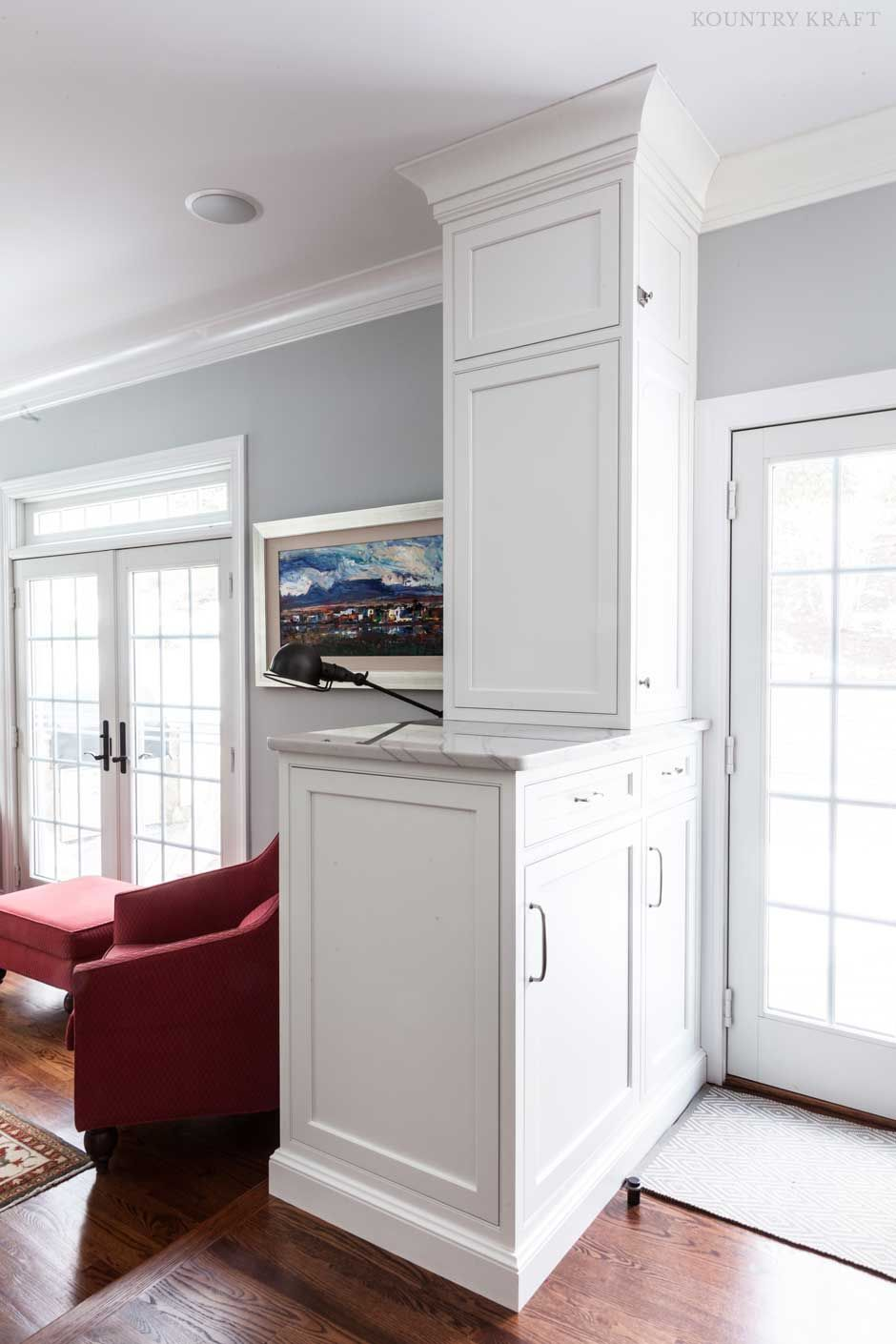 White Shaker Cabinets in Madison, New Jersey https://www ...