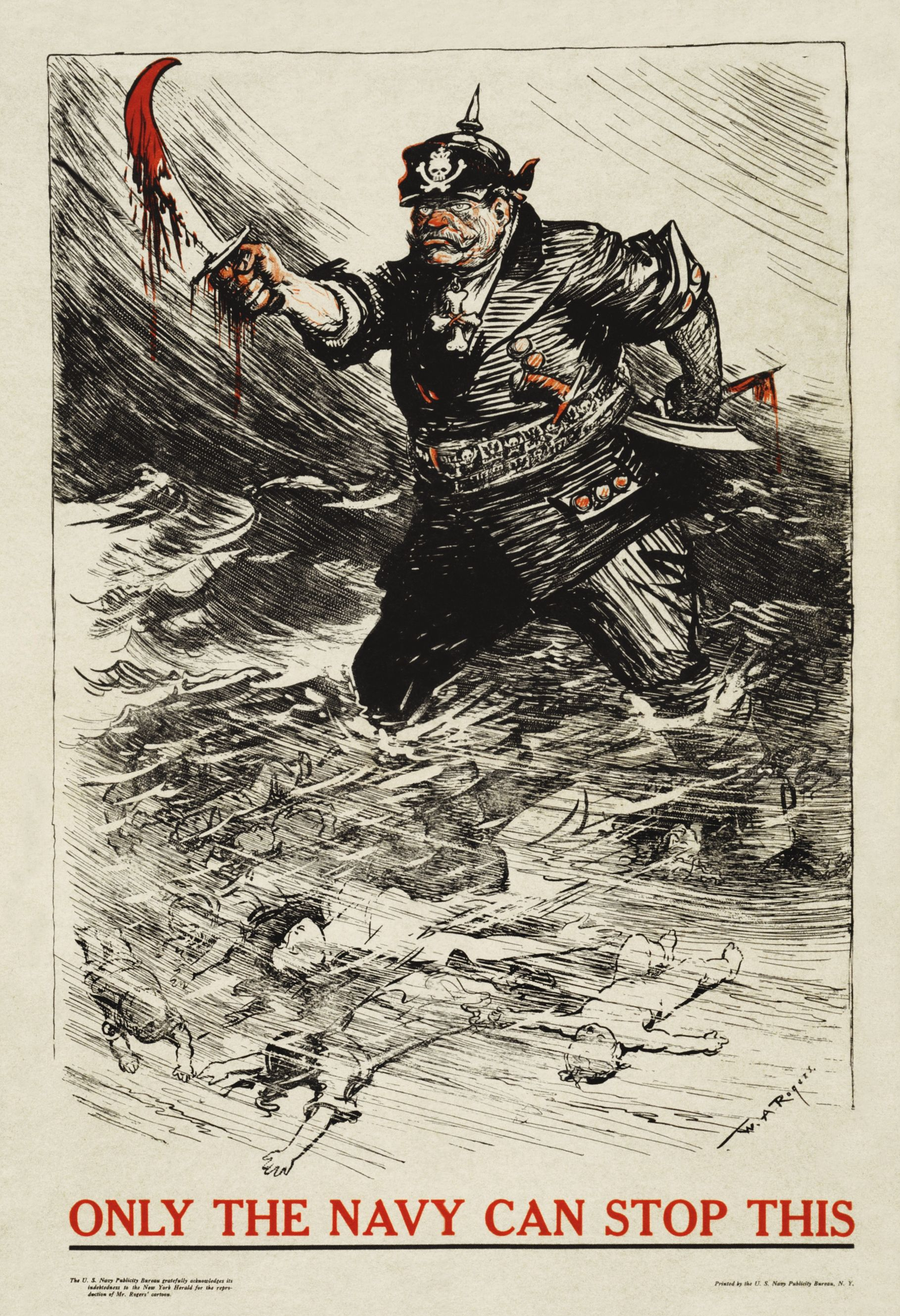 Propaganda Targeting Unrestricted U Boat Warfare