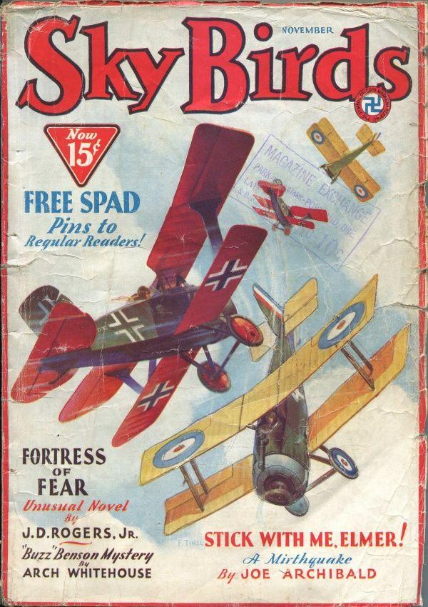Sky Birds Novembe r1932