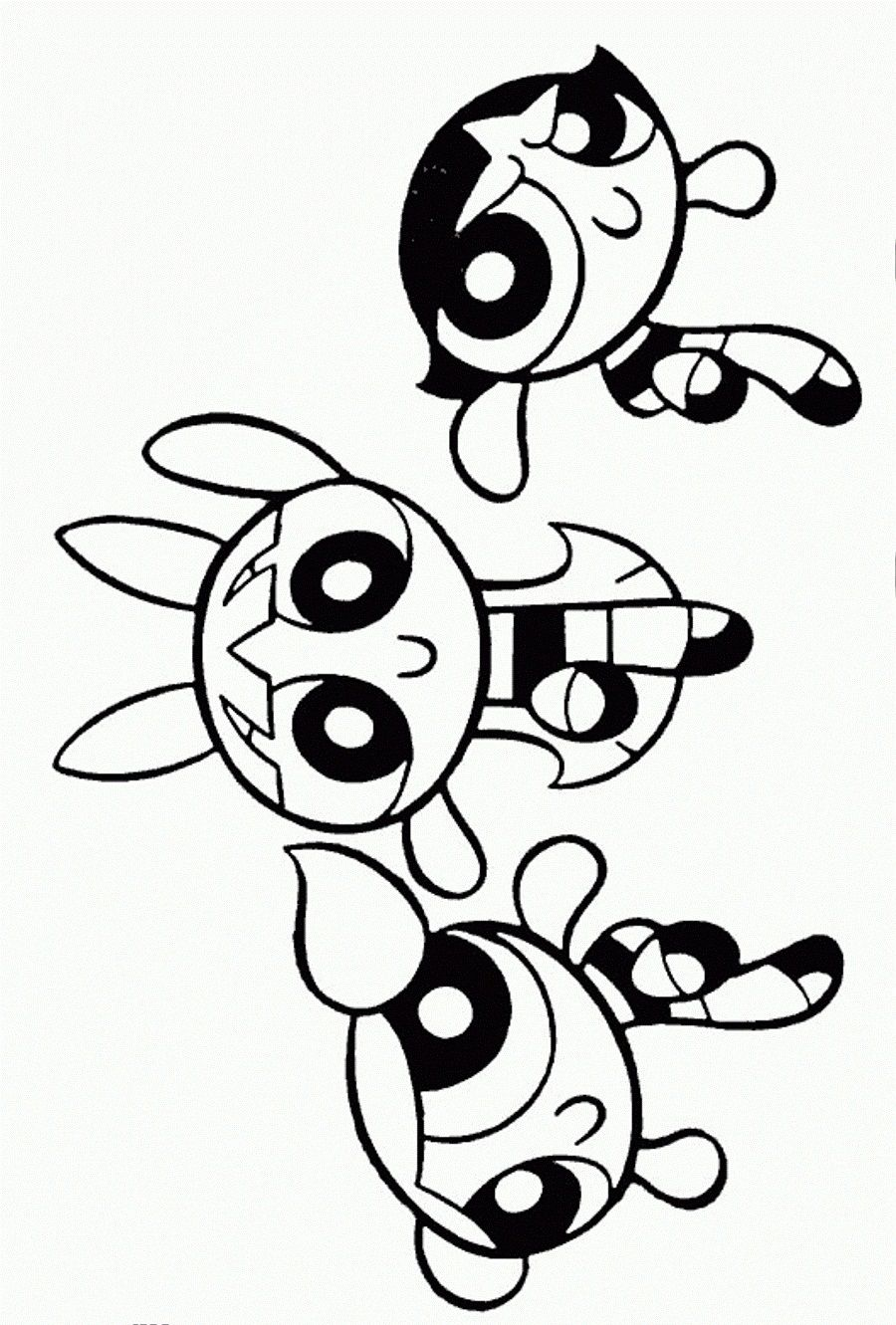 Powerpuff-Girls-Coloring-Page.jpg (900×1331)   kids coloring pages ...