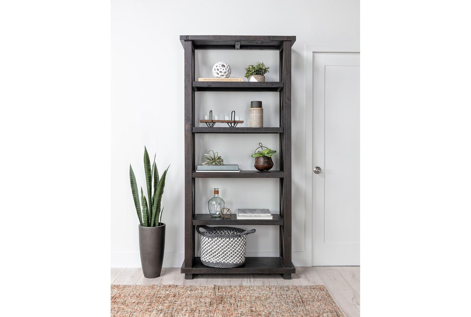 Jaxon Bookcase Black 550 Bookcase Home Decor Living Spaces