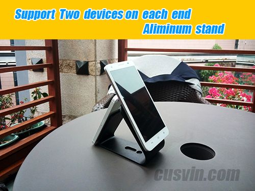 Aluminum Alloy stand with micro-suction pad