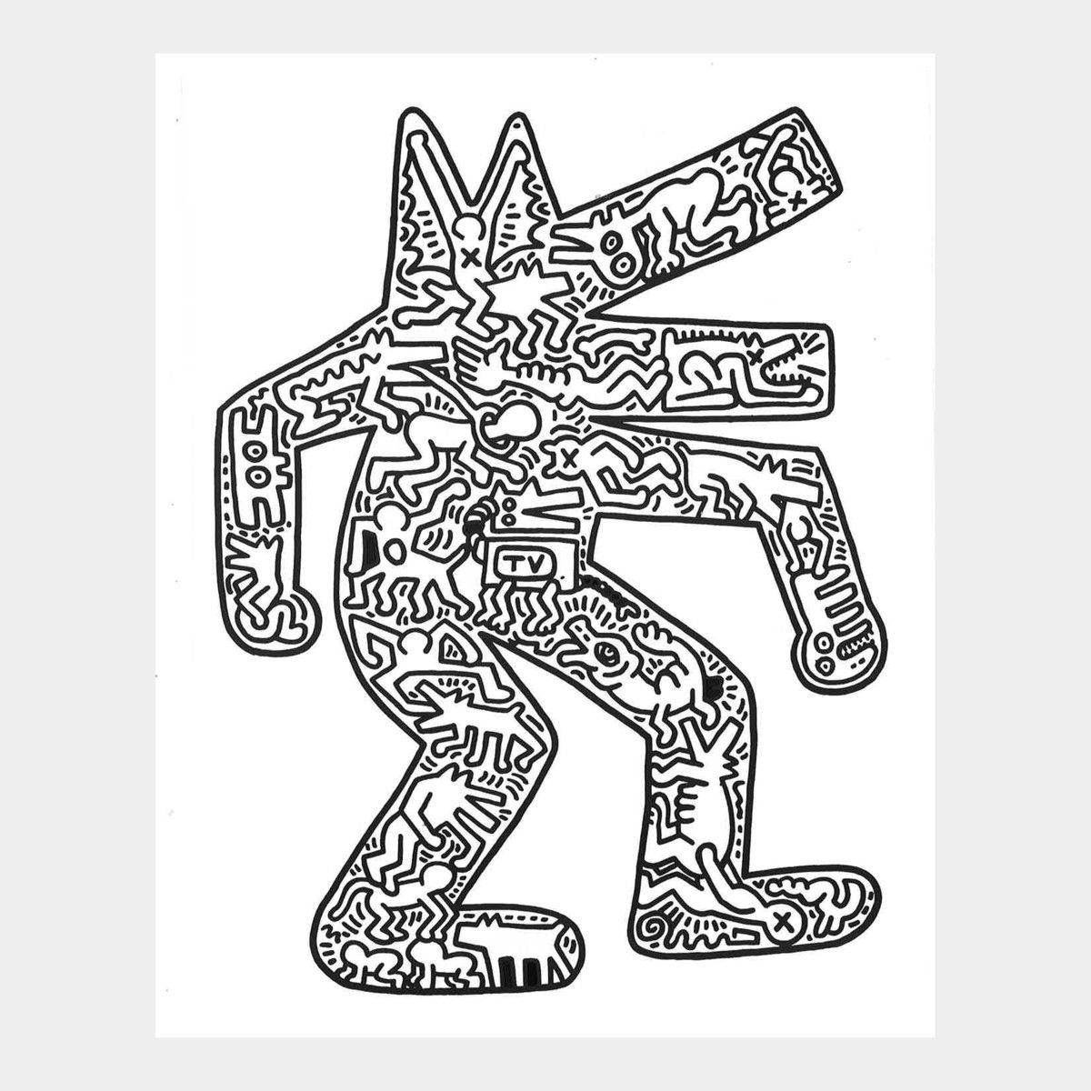 Keith Haring | Guy Gifts | Pinterest