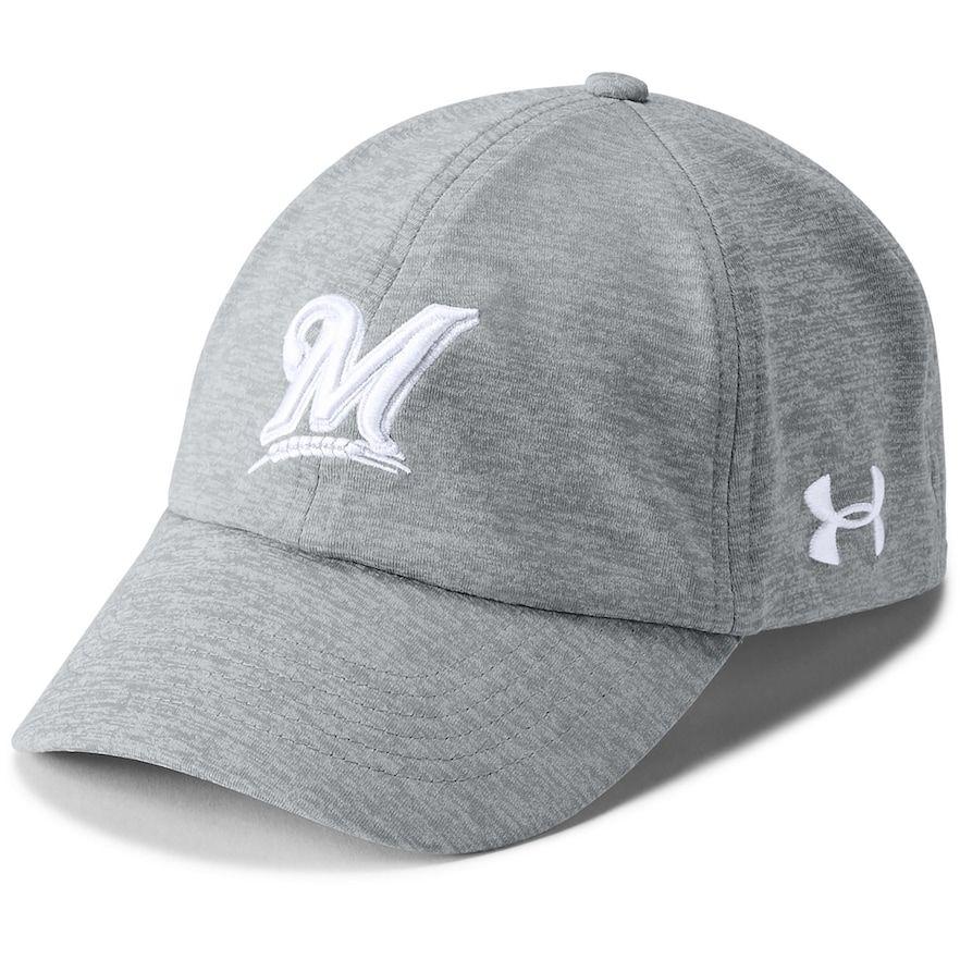 cheap price classic styles best service Women's Under Armour Milwaukee Brewers Renegade Twist Cap ...