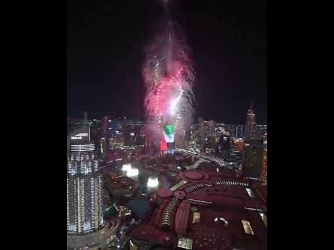Best Video For Burj Khalifa Fire Work 2020 In 2020 Cool Gifs