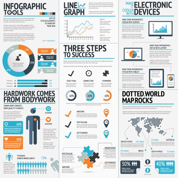 Infographic element sets to help work faster by mats f via behance infographic element sets to help work faster by mats f via behance gumiabroncs Image collections