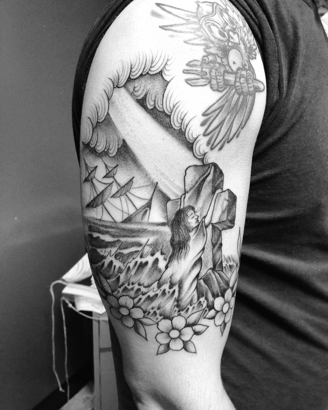 Pin by Ashley Ballard on tattoos   Tattoos, Rock of ages, Ink